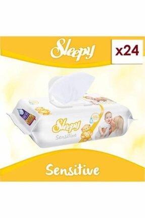 Sleepy Islak Mendil 90 Lı Sensitive 24 Lü Paket 2160 Yaprak