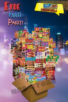 Eti Evde Parti Çikolata Kek Atıştırmalık Pak - 100 Parça