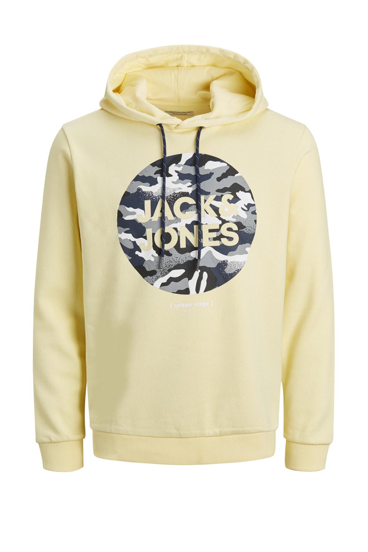 Jack & Jones Kapüşonlu Sweatshirt 12184710 JJPRIME 1