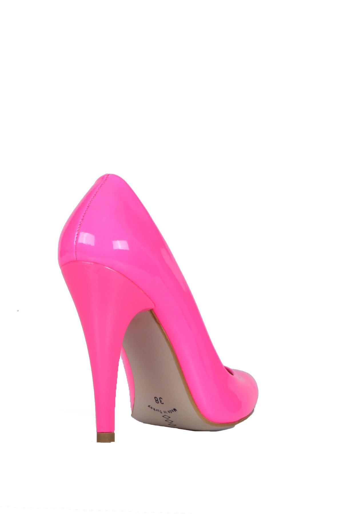 PUNTO Kadın Pembe Topuklu Ayakkabı 2