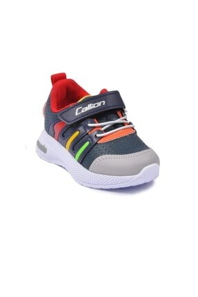 Callion Erkek Bebek Petrol Buz Kırmızı Spor Ayakkabı 02
