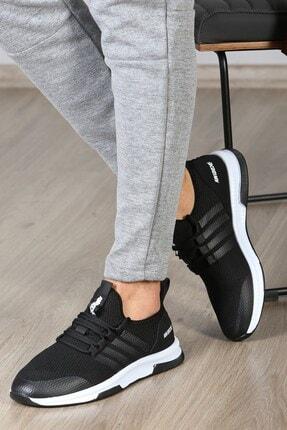 Madmext Erkek Siyah Sneaker Ms024