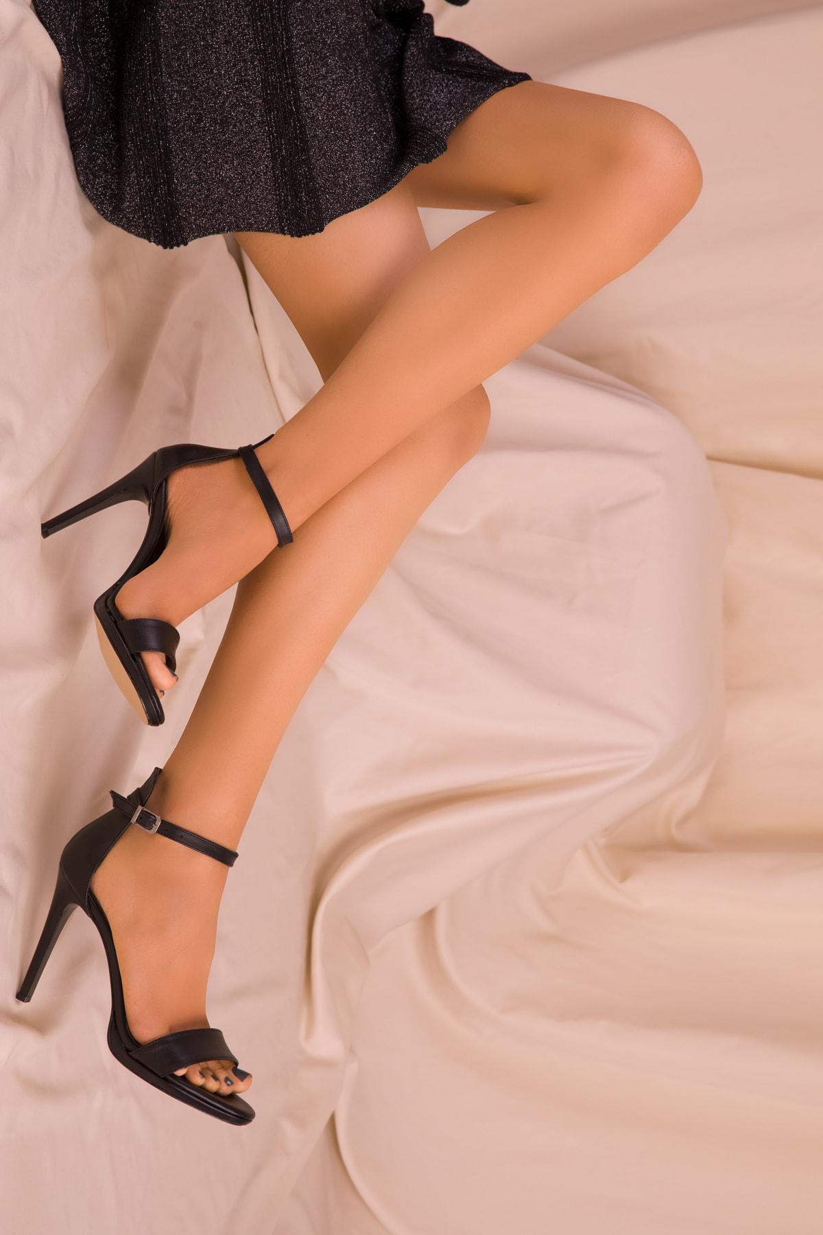 SOHO Siyah Kadın Klasik Topuklu Ayakkabı 14530 2