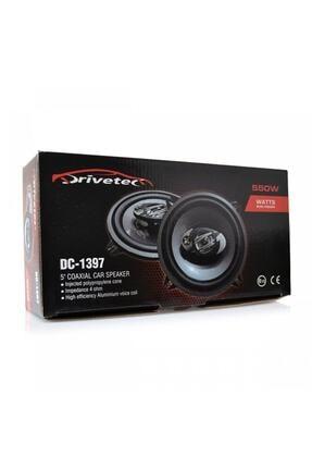 drivetec Dc-1397 550 Watt 13cm Oto Kapı Hoparlör-tweeterli (2 Adet)