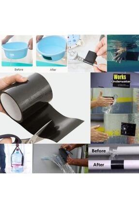 Hırdavat Flex Tape Suya Dayanıklı Banyo Mutfak Boru Pimaş Yapıştırma Tamir Izolasyon Bandı Su Sızdırmaz Bant