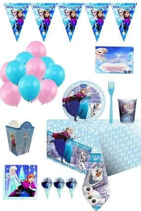 Frozen 16 Kişilik Doğum Günü Parti Seti