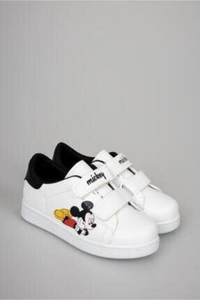 TerlikModasi Kız Çocuk Beyaz Mickey Spor Ayakkabı