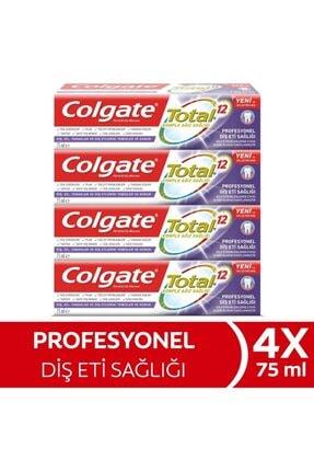 Colgate Total Profesyonel Diş Eti Sağlığı Diş Macunu 4 X 75 Ml
