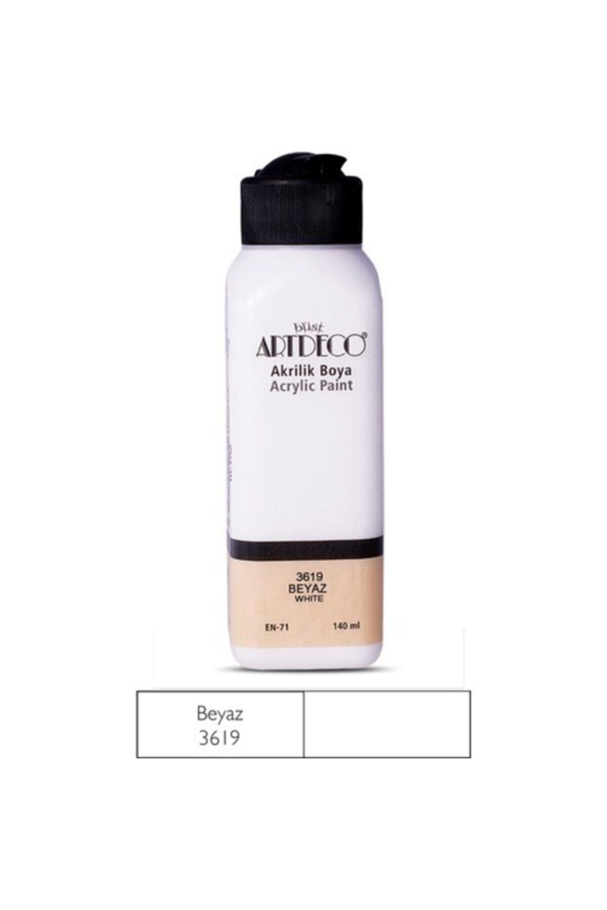 Artdeco Beyaz Akrilik Boya 140 ml (3619) 1