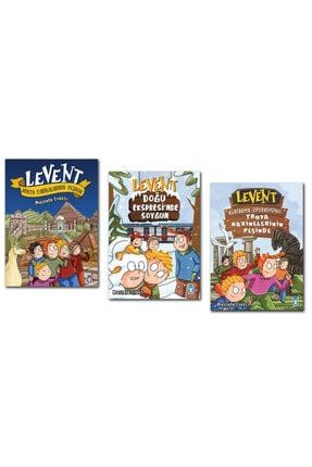 Timaş Çocuk Yayınları Levent Kurtarma Operasyonu - Doğu Ekspresinde Soygun Set 3 Kitap Ciltli Timaş Çocuk