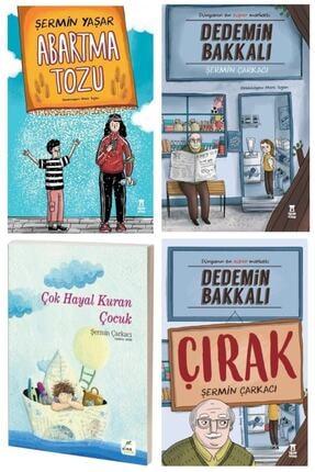 Taze Kitap Şermin Yaşar 4'lü Set. Dedemin Bakkalı- Dedemin Bakkalı Çırak-abartma Tozu- Çok Hayal Kuran Çocuk