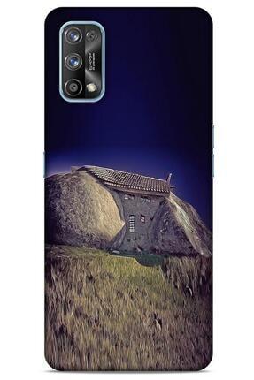 Lopard Oppo Realme 7 Pro Kılıf Dünya Mimarisi (30) Silicone Case Stone House Portekiz