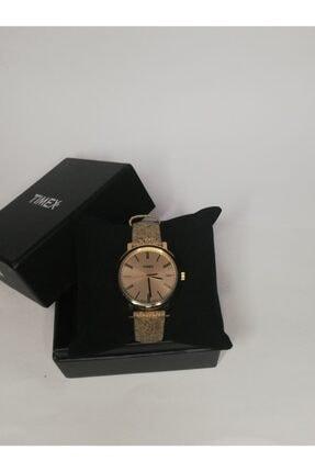 Timex Kadın Bej Işıklı Saat
