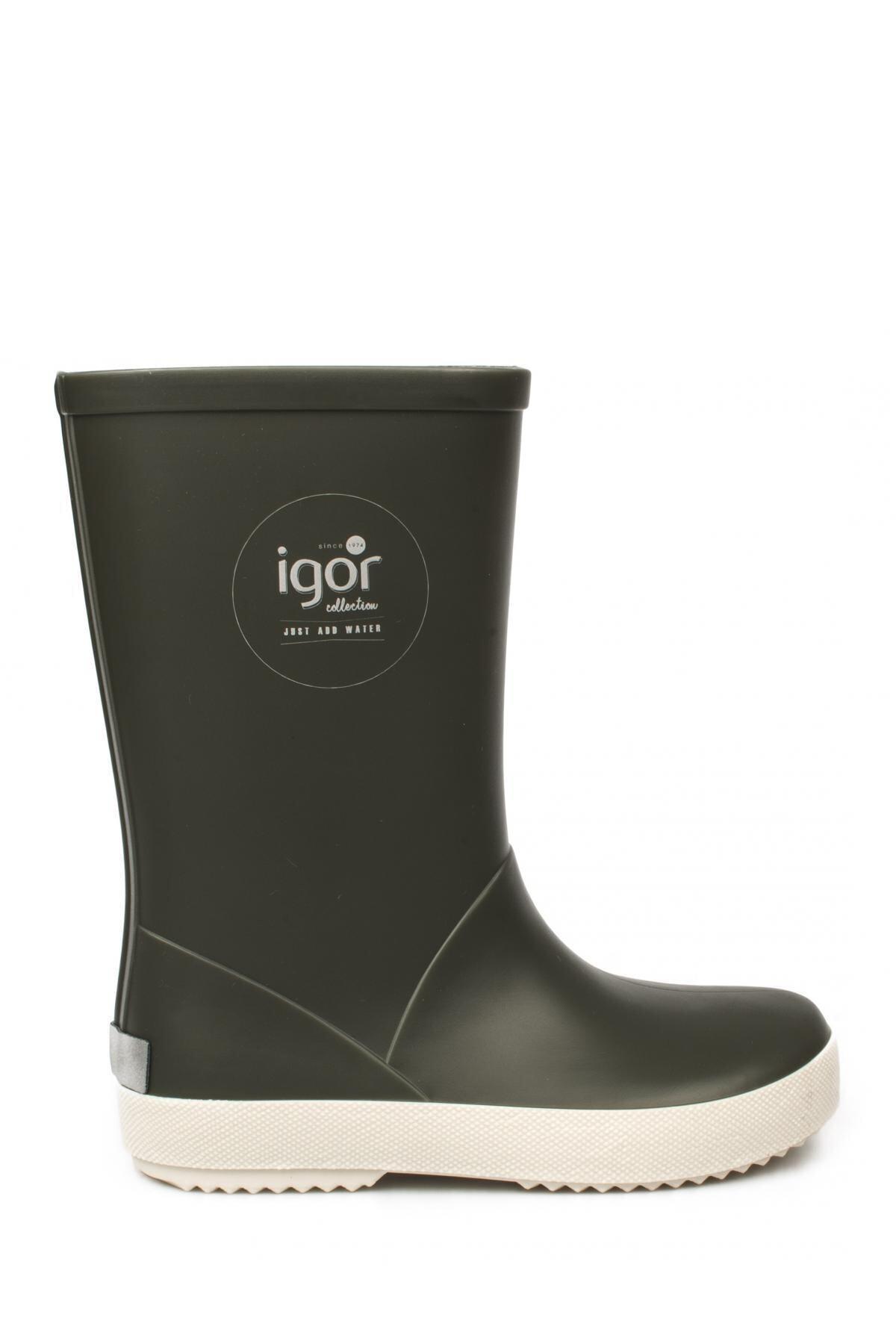 IGOR 10107 Splash Nautico Haki Çocuk Çizme 2