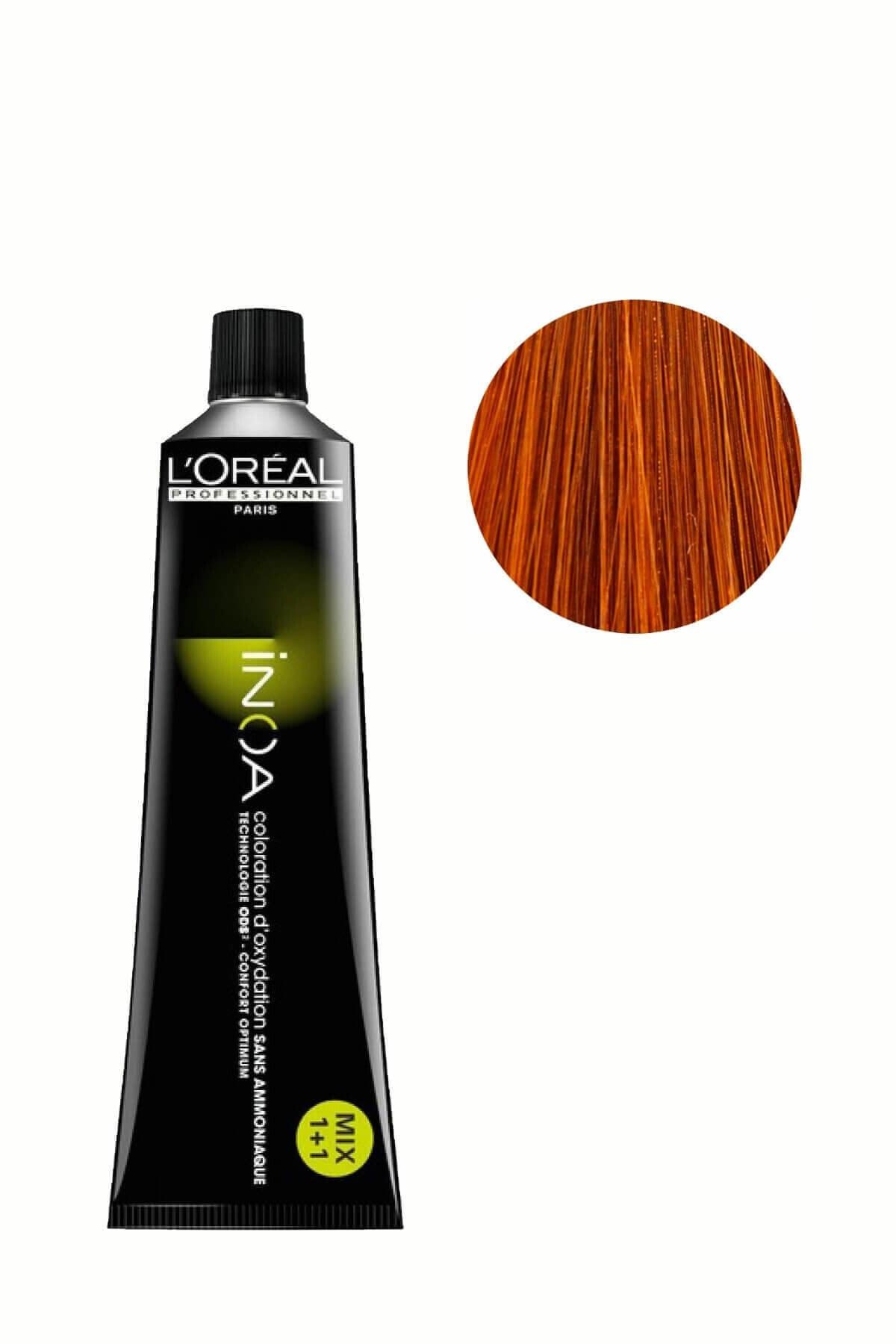 İNOA Saç Boyası 7,43 Kumral Bakır Dore 3474630416246 (Oksidansız) 1