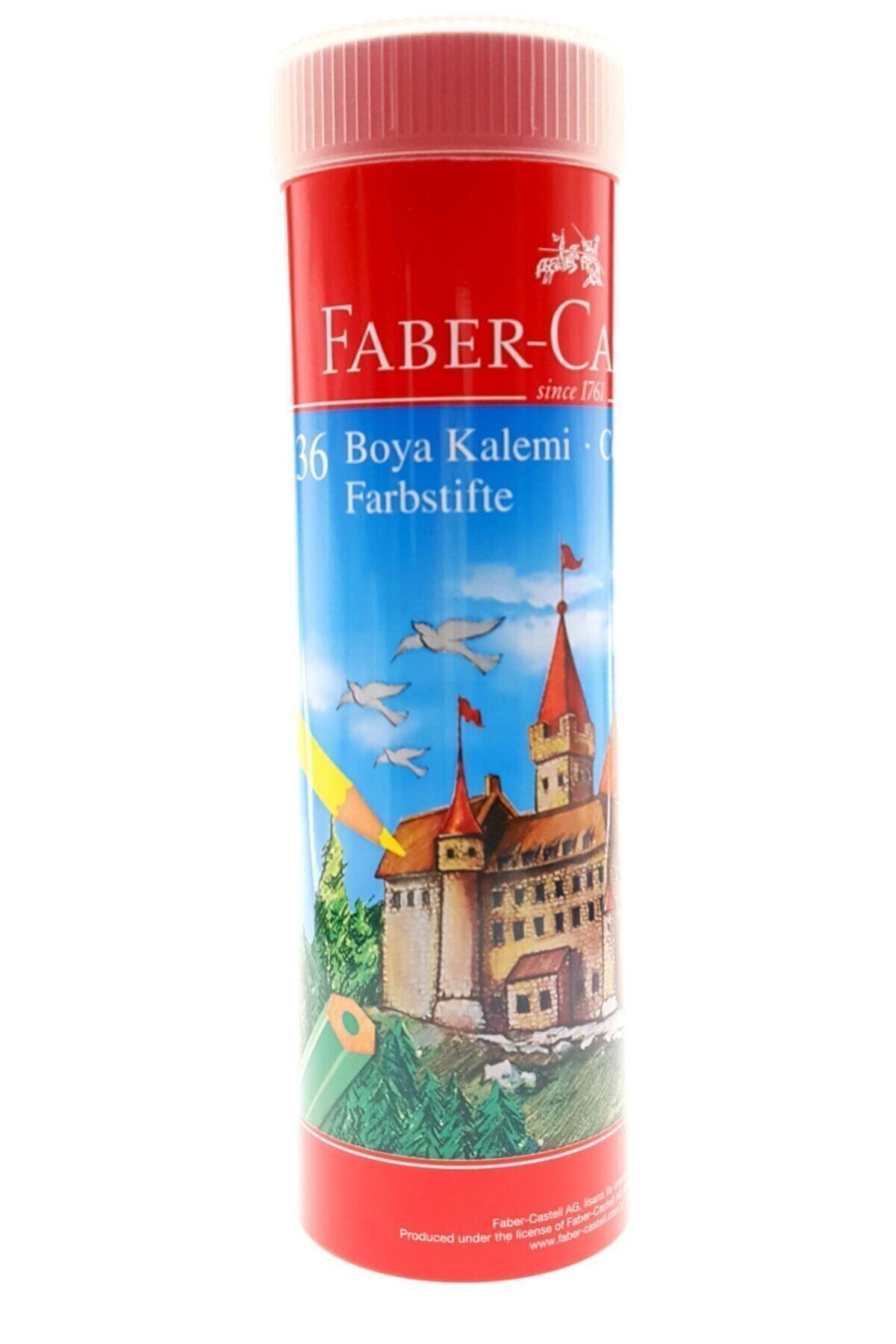 Faber Castell 36 Renk Metal Tüp Uzun Kuru Boya 5173115060 1
