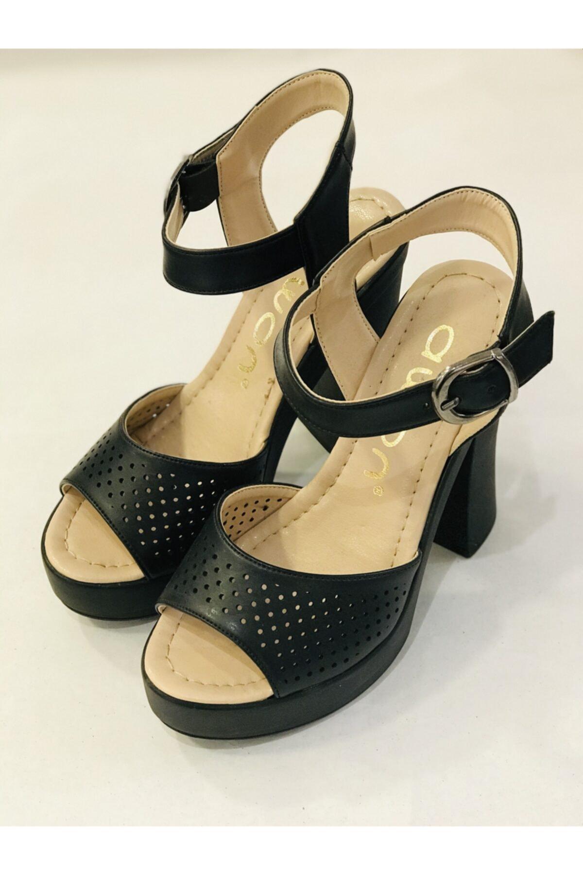 Awon Kadın Siyah Ayakkabı 2