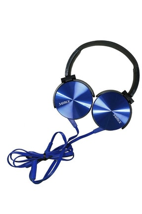 Sunix Extra Bass Kulaküstü Kablolu Katlanabilir Kulaklık / Stereo Ses