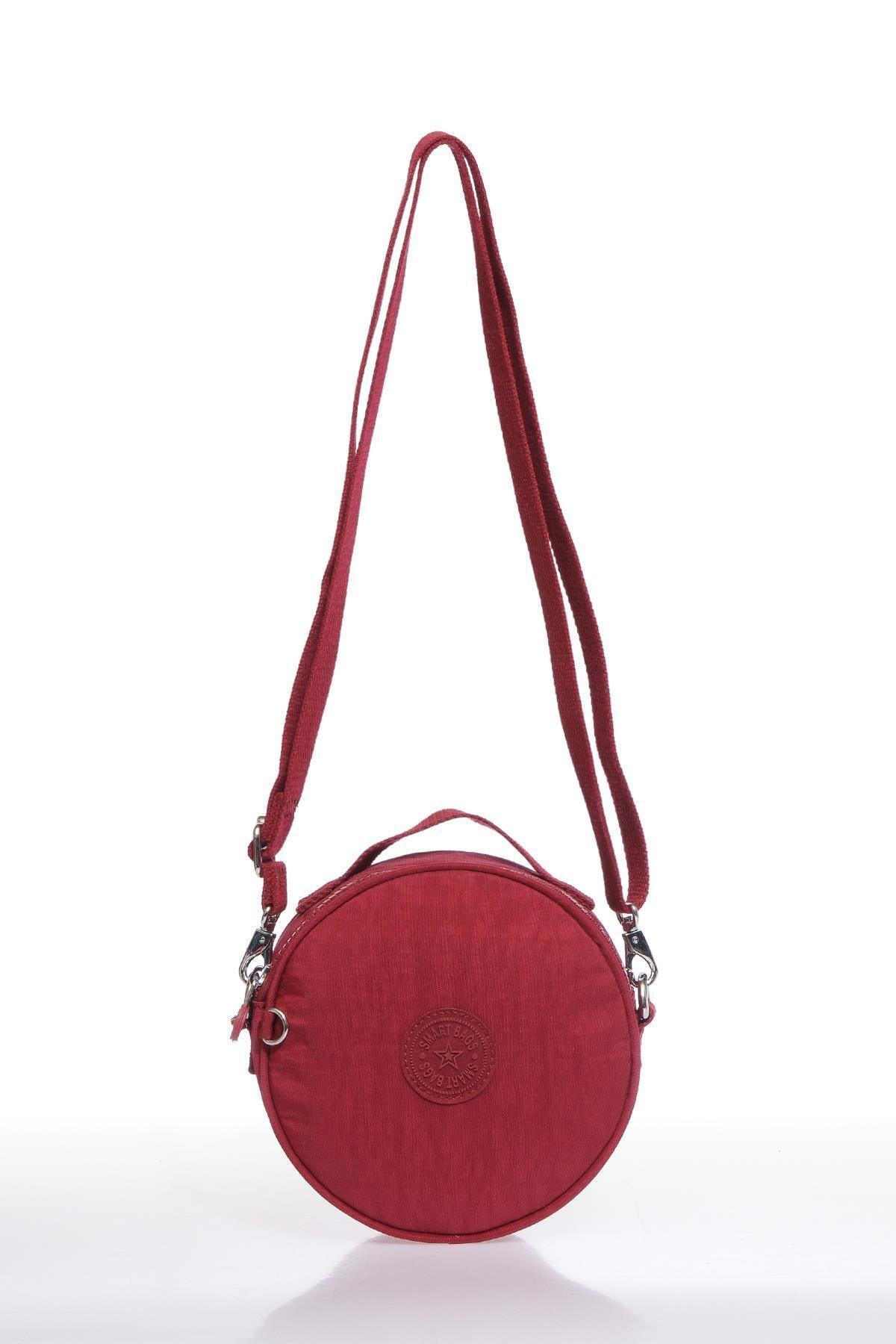 SMART BAGS Smb3024-0021 Bordo Kadın Çapraz Çanta 1