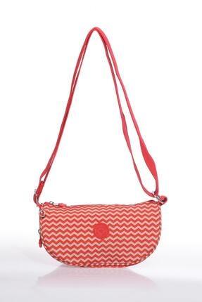 SMART BAGS Smb3026-0134 Kırmızı/bej Kadın Çapraz Çanta