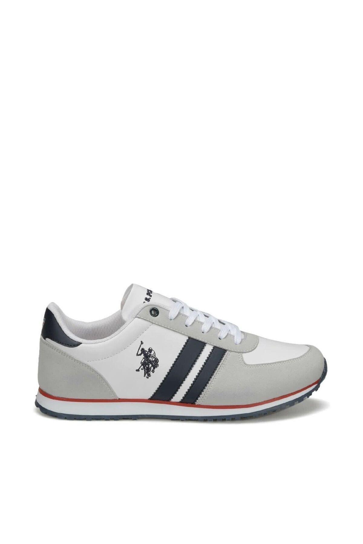 U.S. Polo Assn. PLUS WT 9PR Beyaz Erkek Sneaker Ayakkabı 100418097 1