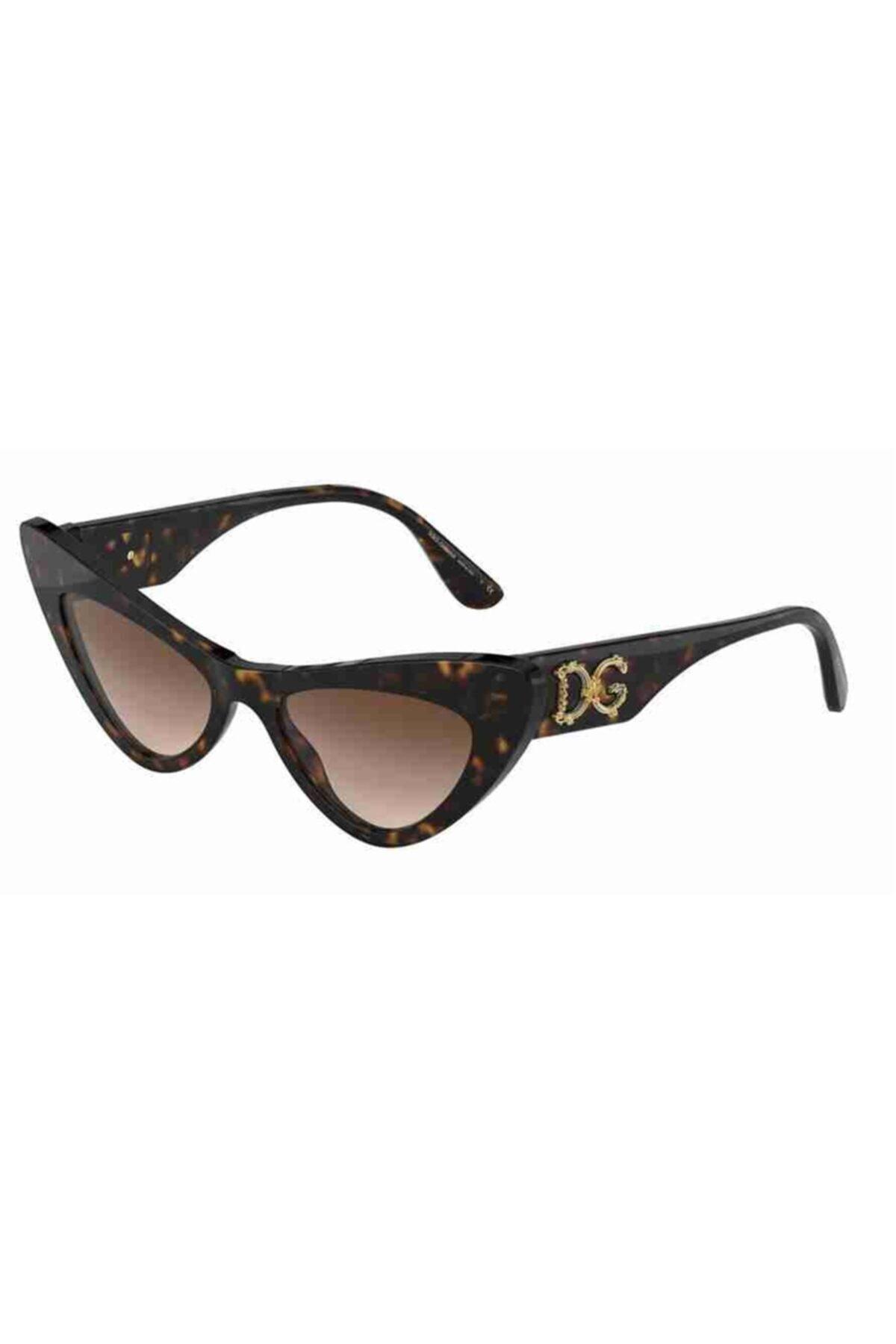 Dolce & Gabbana 4368 502/13 52 Ekartman Kadın Güneş Gözlüğü 1