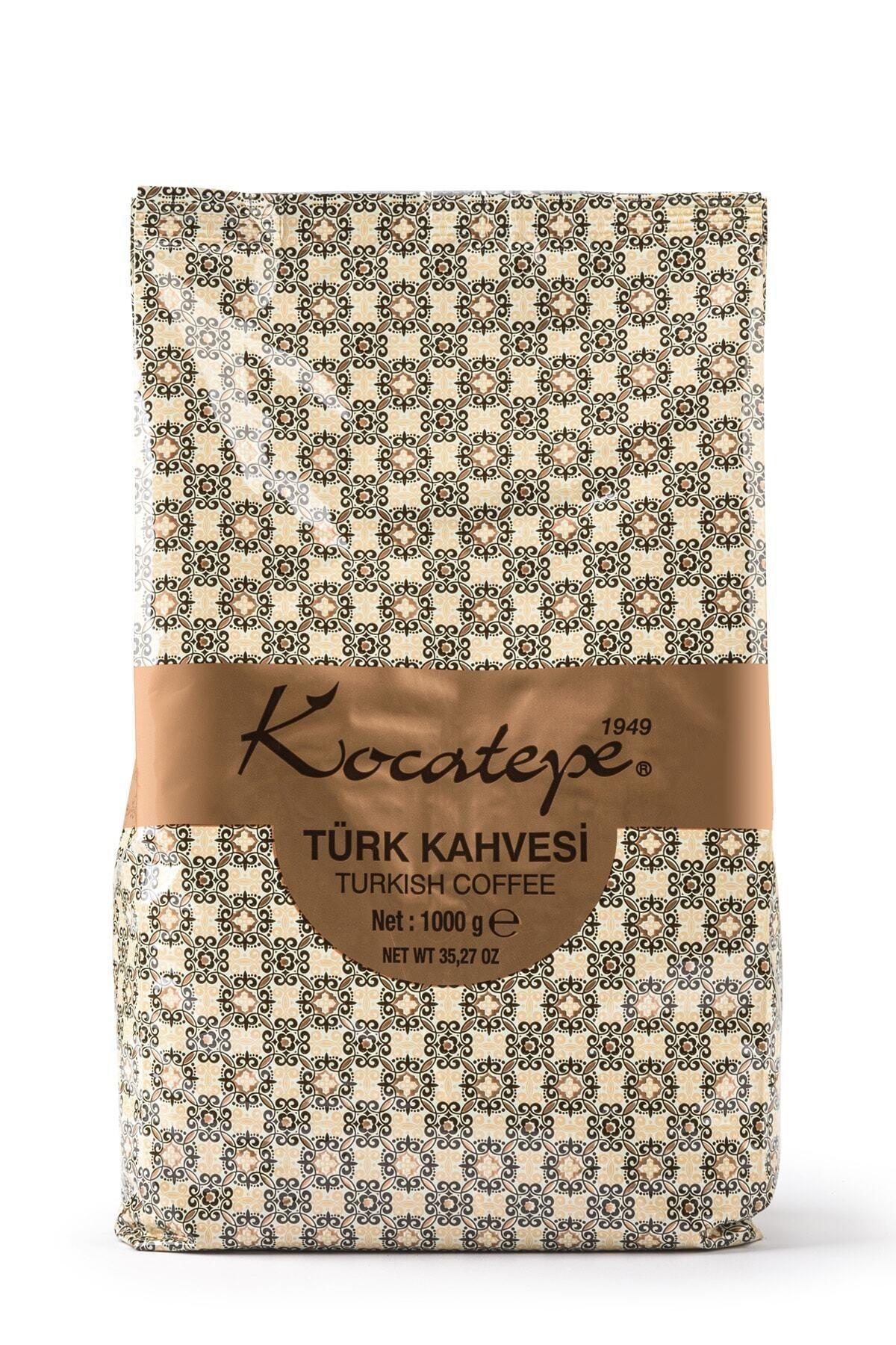 KOCATEPE KAHVE Kocatepe Türk Kahvesi 1kg Folyo 1
