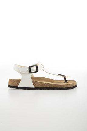 Pierre Cardin PC-5056 Beyaz Kadın Sandalet