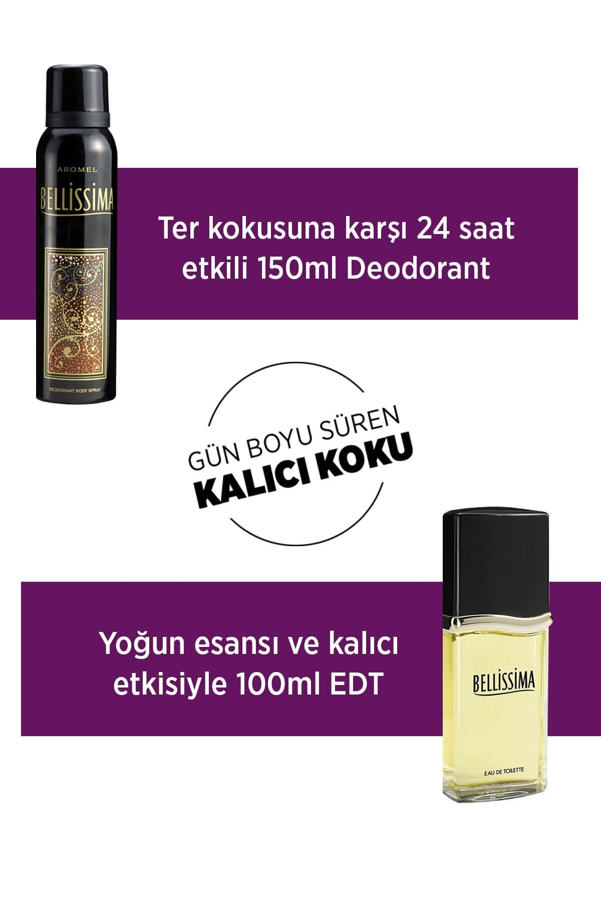 Bellissima Kadın Deodorant 3x150ml 2