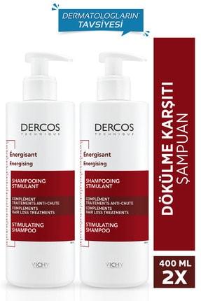 Vichy Dercos Energisant Saç Dökülmesine Karşı Şampuan 390 Mlx2