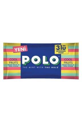 Nestle Polo Şeker Meyveli 3 Kutu