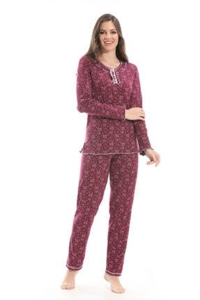 Özdilek Kadın Bordo Etoile Pijama Takımı 98152