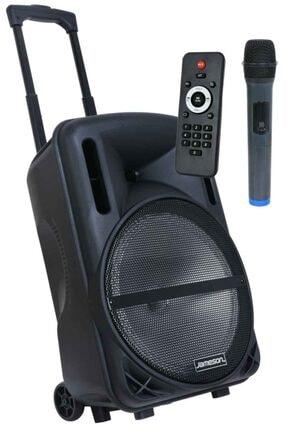 Jameson Portatif Taşınabilir Amfili Bluetooth Hoparlör Tr-124bt