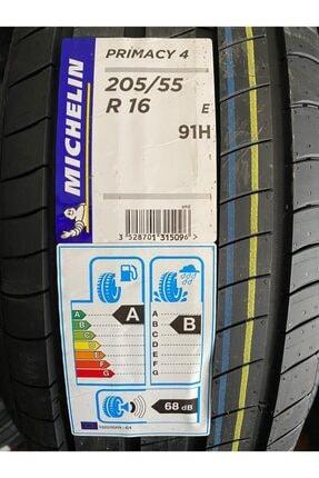 Michelin Mıchelın 205 / 55 R 16 91 H Prımacy 4 E ( Üretim Yılı:2020 49.hafta )