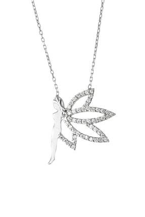 Afrodit Silver Su Perisi Tasarım Gümüş Kadın Kolye