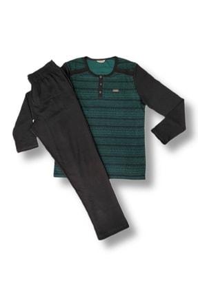 ROLY POLY Erkek Yeşil Pijama Takım 3116