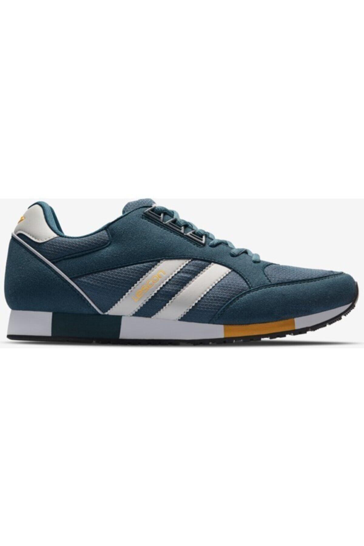 Lescon Unisex Lacivert Boston Sneakers Ayakkabı 2