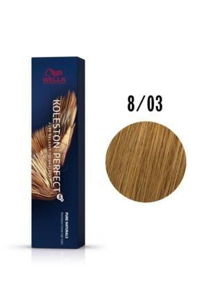 Wella Kp Me 8/03 Açık Altın Sarısı Saç Boyası