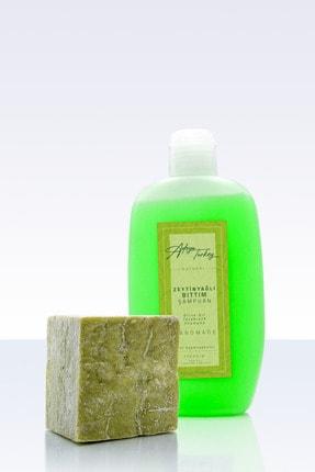 Adoya Turkey Doğal Zeytinyağlı Bıttım Şampuanı Ve Hakiki Bıttım Sabunu Seti