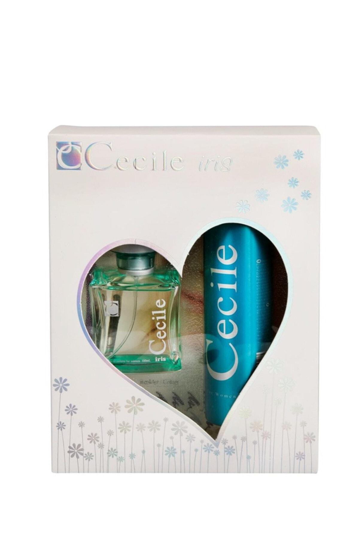 Cecile Iris Kadın Edt 100 ml Deodorant 150 ml Kadın Parfüm Seti 8698438201049 1