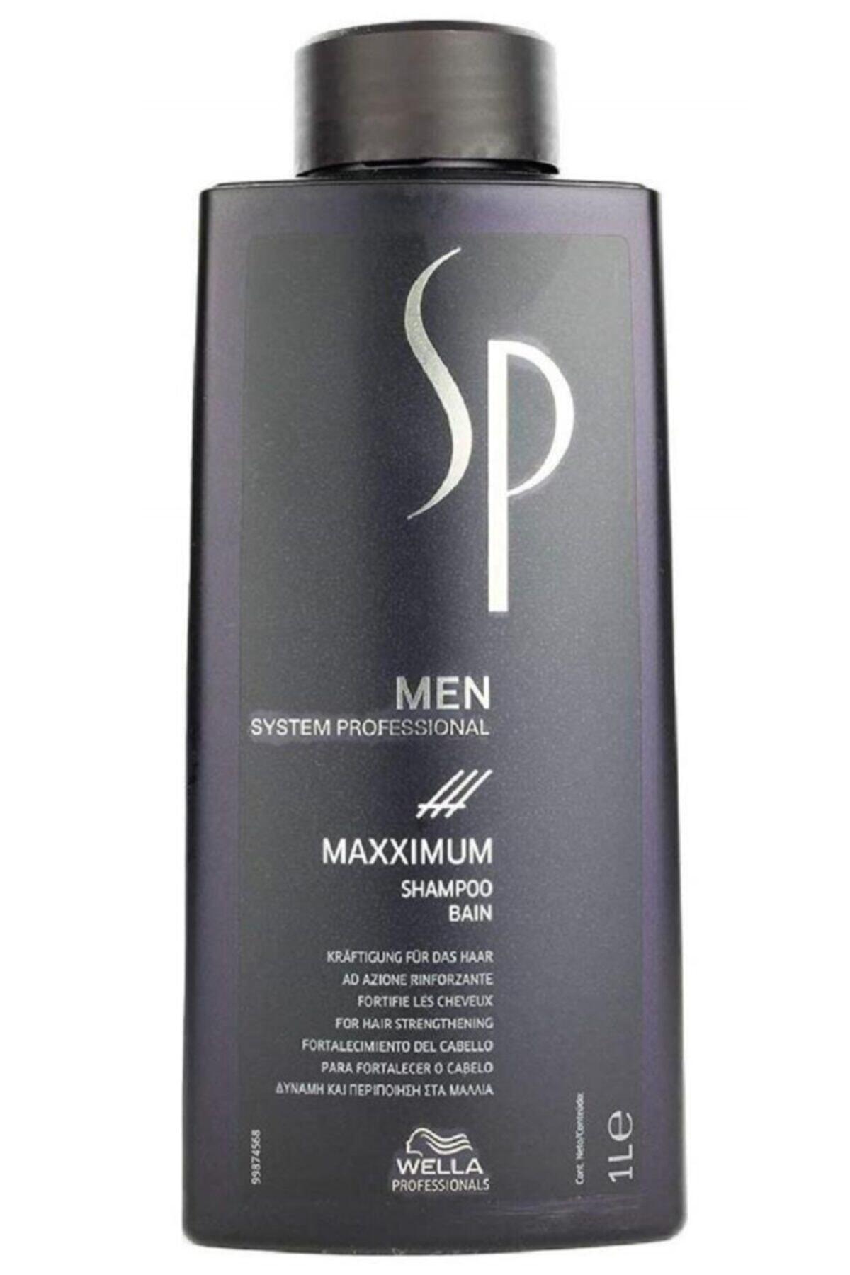 Wella Sp Men Maxximum Dökülme Önleyici Şampuan 1000 ml 1