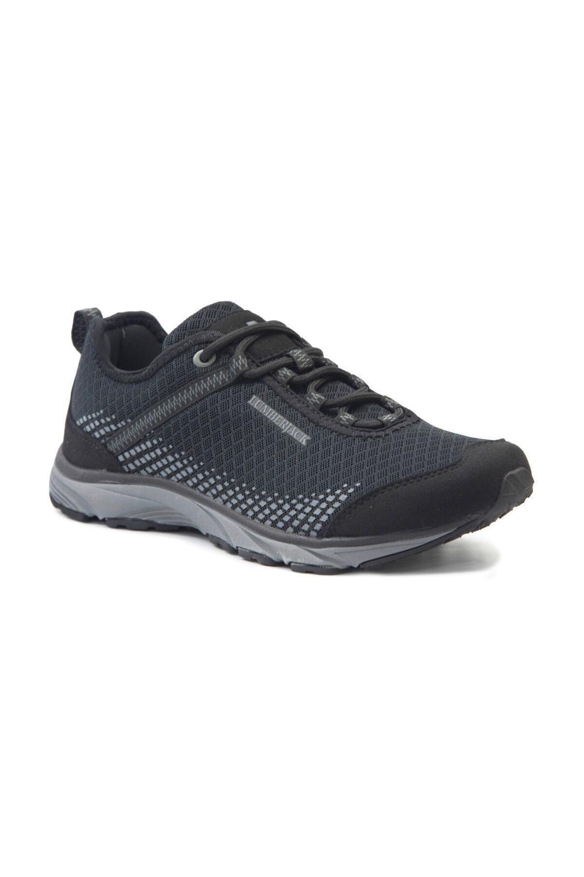 lumberjack DARE Siyah Siyah Erkek Koşu Ayakkabısı 100236513 1