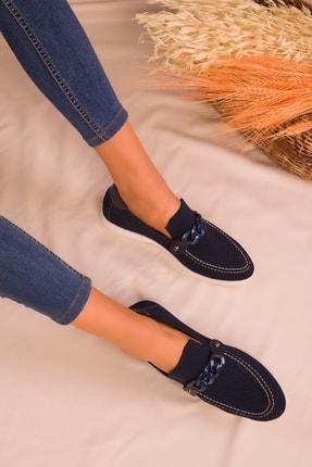 SOHO Lacivert Kadın Casual Ayakkabı 16108