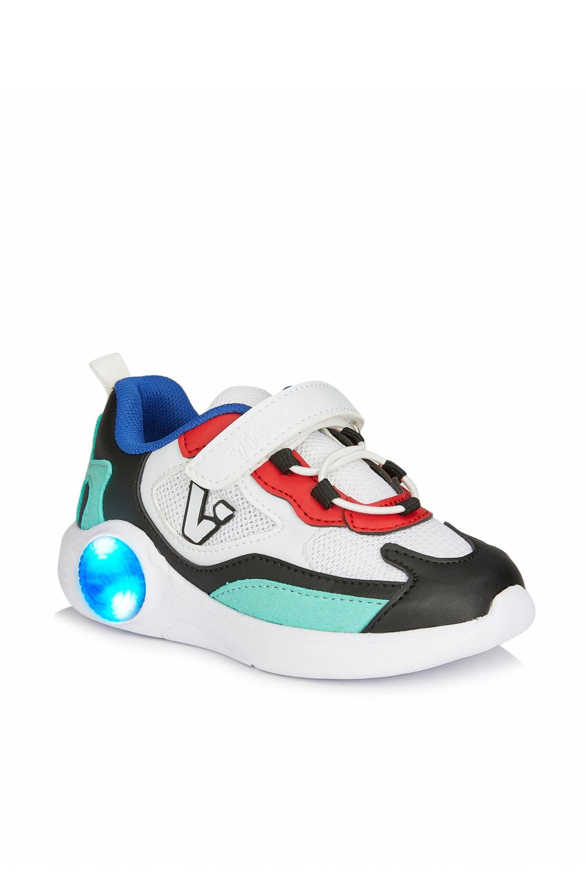 Vicco Yoda Unisex Bebe Beyaz/siyah Spor Ayakkabı 1