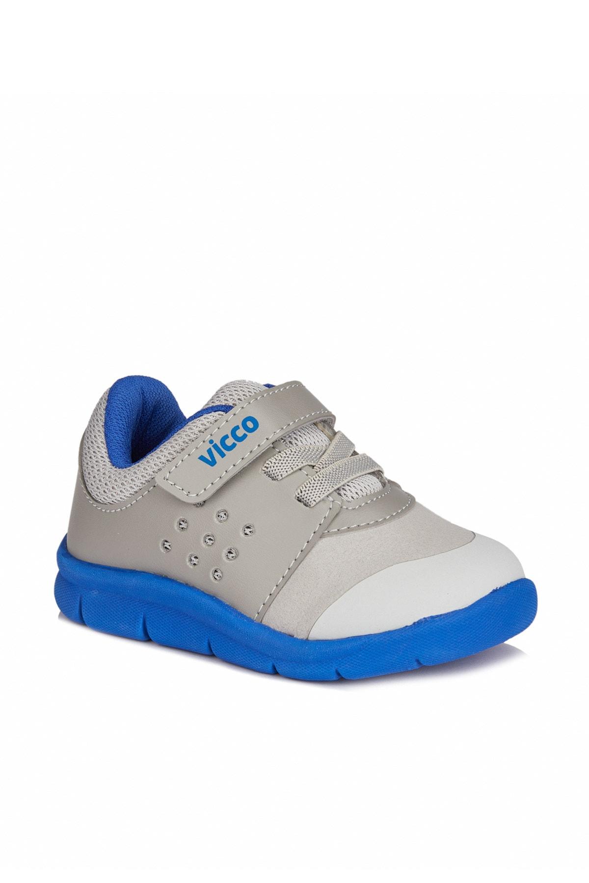 Vicco Mario Iı Erkek Ilk Adım Gri/saks Mavi Spor Ayakkabı 1