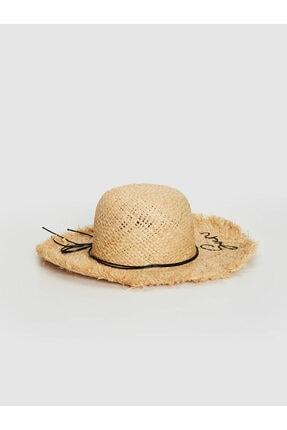 LC Waikiki Kız Çocuk Açık Bej F0B Şapka