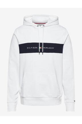 Tommy Hilfiger Block Logo Erkek Sweatshirt