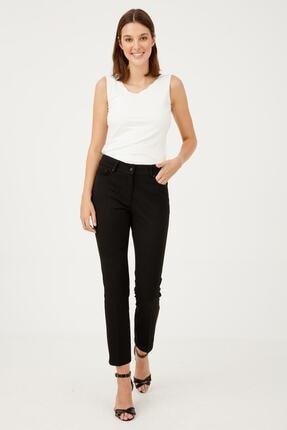 Ekol Kadın 5 Cep Siyah Pantolon 1001