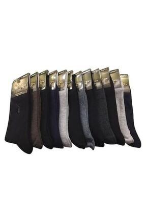 PRESTIJ Erkek Presti 12'li Soket Çorap Asorti