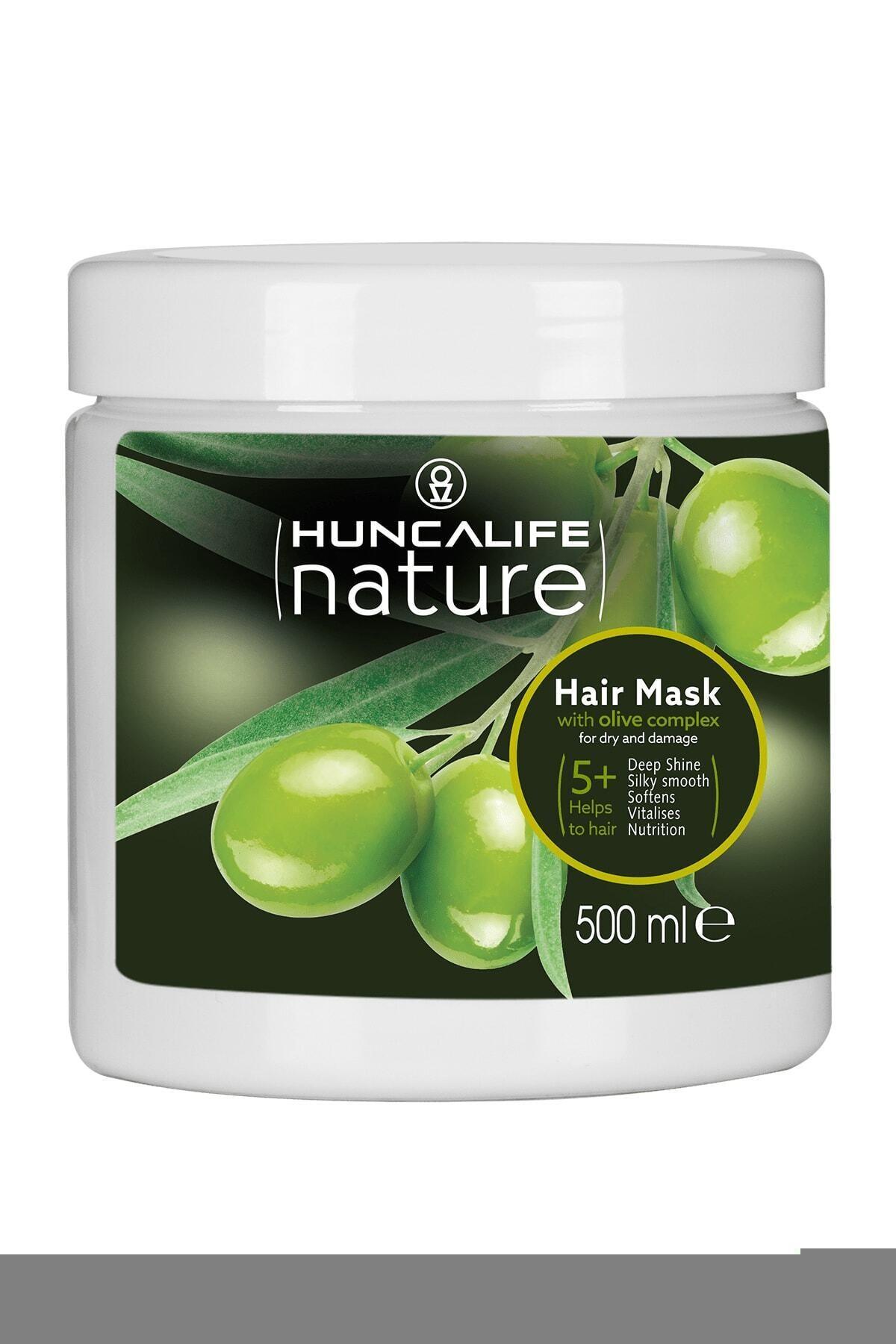 Huncalife Zeytinyağlı Saç Maskesi 500 ml 8690973715401 1